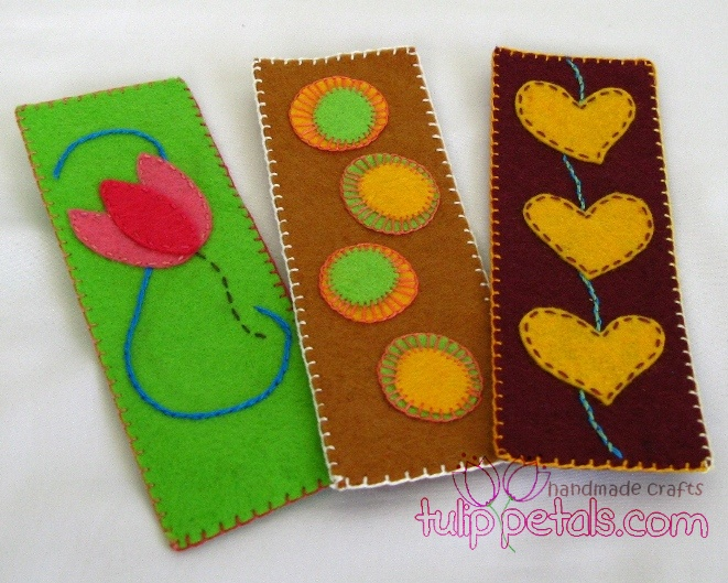 Felt Craft Bookmark