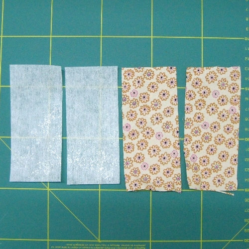Fabric Bookmark Tutorial 01
