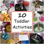 Toddlers Activities idea – January
