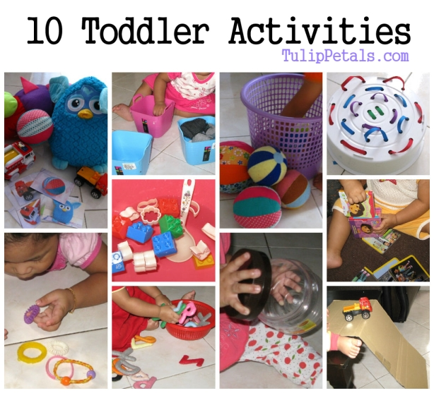 10 Toddler Activities Feb 2014