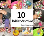 Toddlers Activities Idea- March