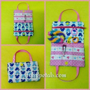Hair accesories bag