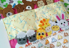 Finger Puppets Busy Book