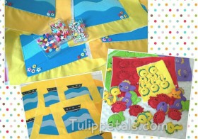 Proses Busy book 10: Page Fishing