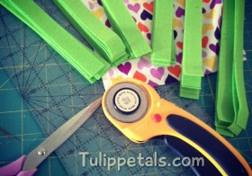 Proses Busy book 8: Potong guna rotary cutter