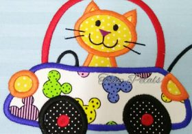 Bantal Sulam Applique Cotton